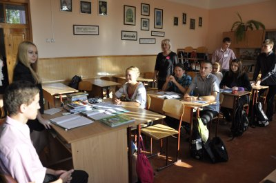 В школе в Черновцах школьники заменяли учителей