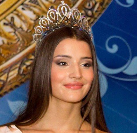Стала третьою віце міс на miss globe 2012