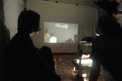 В Черновцах студенты изучают искусство театра теней