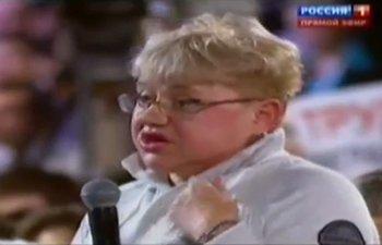 Российская журналистка мгновенно отреагировала на хамство Путина (видео)