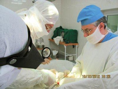 В новом корпусе детской больницы провели первую операцию