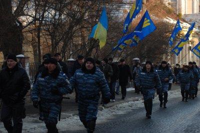 Прокуратура ищет обидчиков милиционера в Черновцах