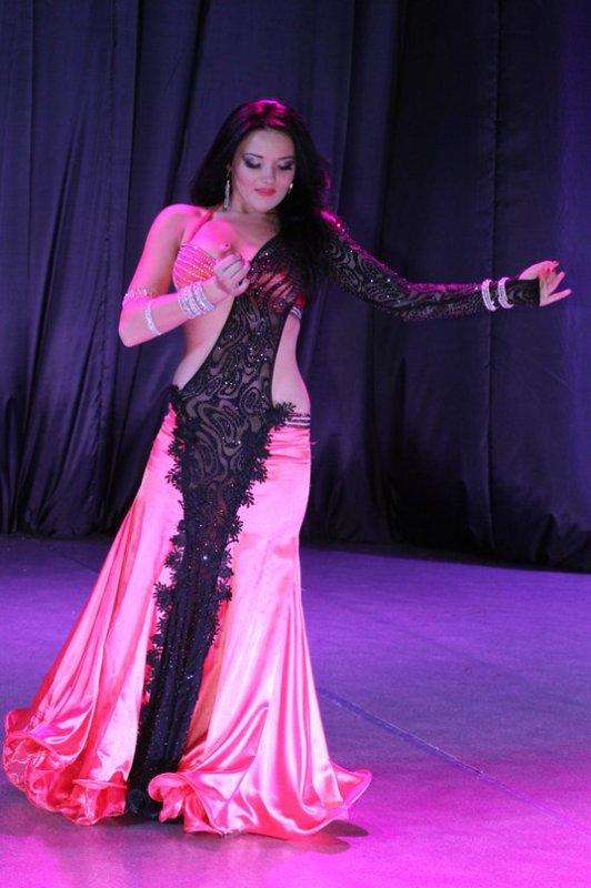 Победитель конкурса по восточным танцам