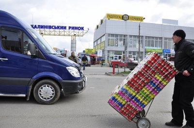 На Калиновском рынке появятся автотерминалы 