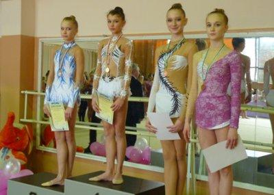 Черновчанка завоевала бронзу на Чемпионате Украины по художественной гимнастике