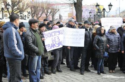 """Предприниматели """"Калинки"""" - против эвакуации контейнеров из сектора № 5"""