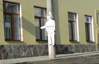 В Черновцах повстановлювалы бумажных Папиева и Михайлишина