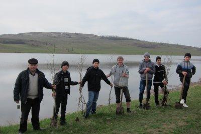 Жители села на Буковине собственными силами восстановили заброшенное ставок