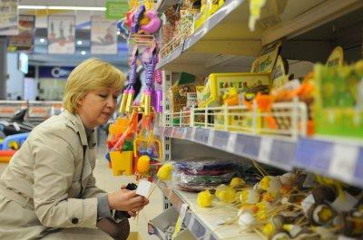 На Буковине начался распродажа пасхальных товаров