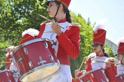 В Черновцах состоялся парад духовых оркестров