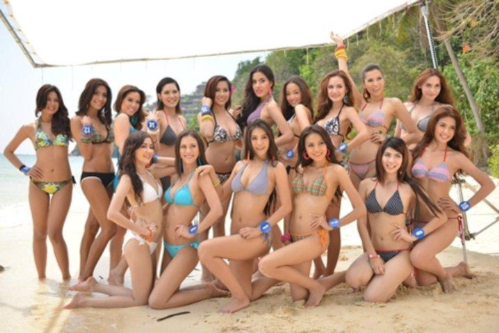 Конкурс красоты пляж видео