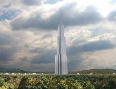 В Китае за 7 месяцев построят самый высокий в мире небоскреб (видео)