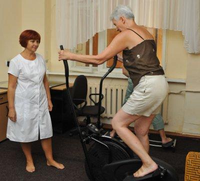 Для черновицких пенсионеров открыли кабинет лечебной физкультуры