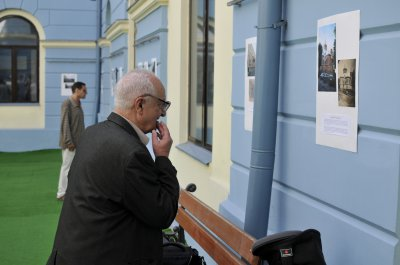Photo exhibition foreigners who photographed Chernivtsi, opened at the Gallery Hall