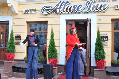 Chernivtsi opened a hotel , which was built ten years