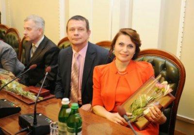 В Верховной Раде наградили учительницу из Буковины