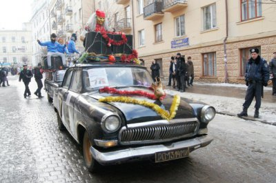 """В Черновцах на  """"Маланка-фест """" будет 13-метровый дракон"""