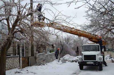 На Буковине восемь сел все еще без света из-за непогоды