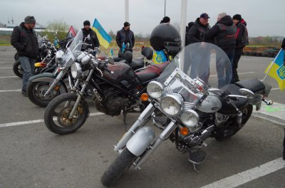 У черновицких байкеров похитили три мотоцикла