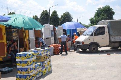 Калиновский рынок просит милицию помочь обустроить ярмарка на Зеленой