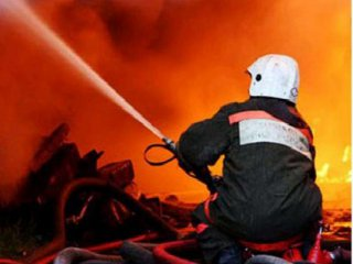 На Буковине горели хозяйственные постройки