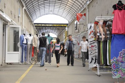Chernivtsi police again obshukovuye entrepreneur who trades & quot; Adidas & quot;