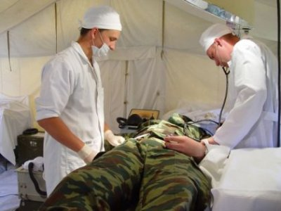 During the course of ATO over 170 injured Bukovinians