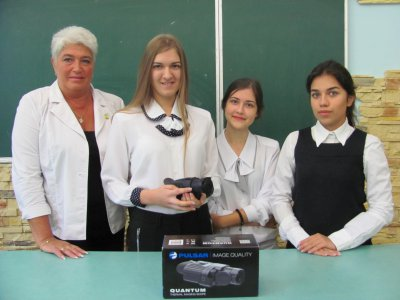 Chernivtsi students raised money for the imager to ATO