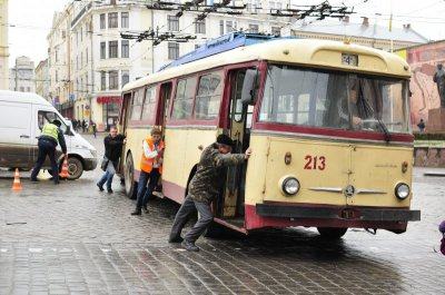 Transportation in Chernivtsi trolley will rise from 9 October