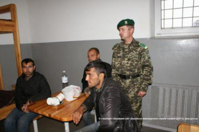 In the & quot; Porubne & quot;  arrested three illegal immigrants from Afghanistan