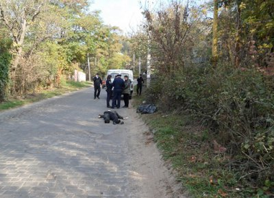 The truck driver knocked down to death and fled chernivchanku (PHOTOS )