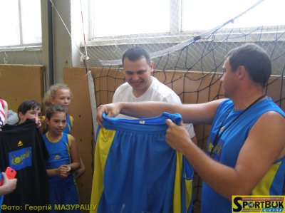 In basketball Mamayivtsi gathered to 5 teams from all over Bukovina
