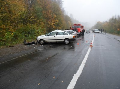 Bukovina driver drove into the oncoming lane and caused the accident : a man died (PHOTOS )