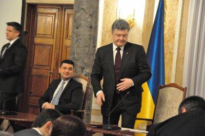 As Poroshenko CNU talked to Bukovynians (PHOTOS)