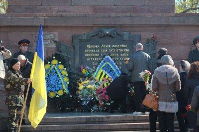 In Chernivtsi, Ukraine celebrated the liberation (PHOTOS)
