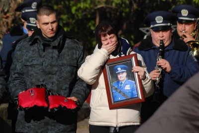 Chernivtsi buried Natshvardiyi officer who was killed in the area of ATO (PHOTOS)