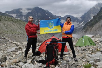 & quot; In Georgia, all greeted us & quot; Glory to Ukraine ! & quot ;, - Chernivtsi climber (PHOTOS)