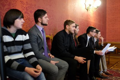 Chernivtsi will squash court and videovitryna
