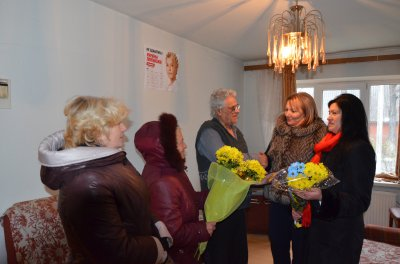 & quot; Homeland & quot;  congratulated the 80 th anniversary of Bukovina , which gave 8,000 USD & quot; the liberation of Tymoshenko & quot;