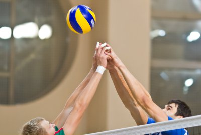 Hotynchany debut in amateur volleyball league