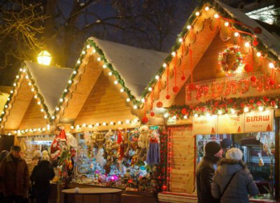 Lviv Kaspruk and Garden opened Christmas Fair