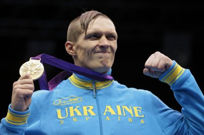 Alexander Usyk up in the ranking just three steps