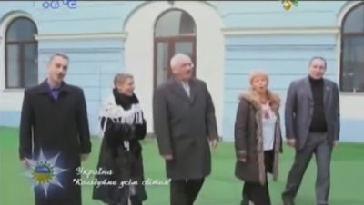 Chernivtsi MPs and journalists reincarnated in carolers ( VIDEO)