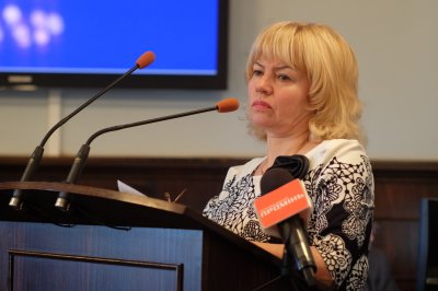Chernivtsi adopted city budget.  In the session adjourned until Tuesday