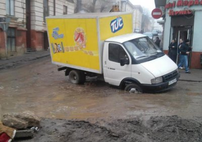 The contractor sued the City Council for agreement and terminated repair street Khmelnitsky