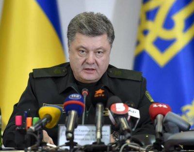 Порошенко заявив про відведення військ з Дебальцевого