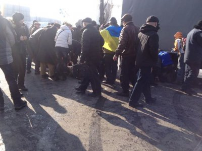 Відео вибуху під час мирної ходи у Харкові