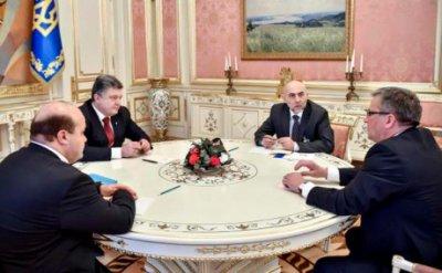 Латвія та Польща підтримали ідею введення миротворців ООН на Донбас