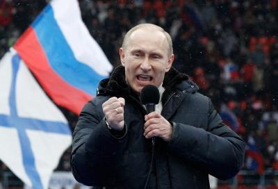У Росії опублікували нові рейтинги популярності Путіна