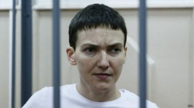 Адвокат: Надія Савченко збирається оголосити сухе голодування